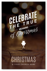 Celebrate True Meaning Postcards