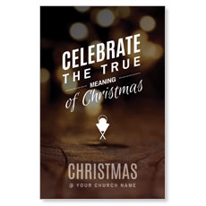 Celebrate True Meaning Postcard