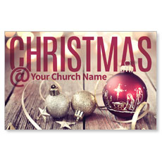 Christmas At Ornaments Postcard