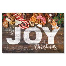 Joy Cookies Postcard