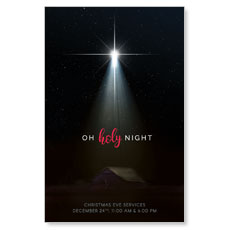 Oh Holy Night Postcard