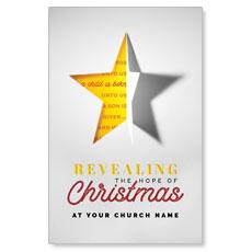 Star Revealing Postcard