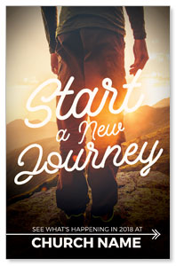 Start New Journey Postcards