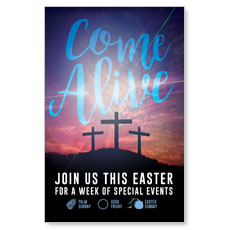 Come Alive Easter Journey Postcard