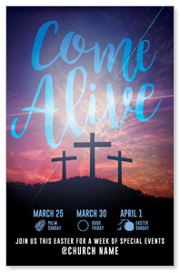 Come Alive Easter Journey Postcards