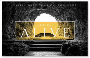 Alive Empty Tomb Postcards