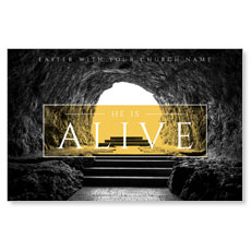 Alive Empty Tomb Postcard