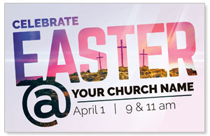 Easter At Calvary Postcards