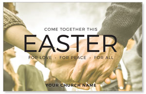 Easter Come Together Postcards