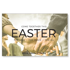 Easter Come Together Postcard