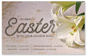 Easter Lilies Postcards