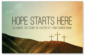 Hope Starts Here Calvary Church Postcards
