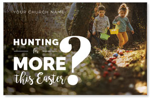 Hunting This Easter Postcards