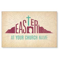 Parchment Easter Postcard
