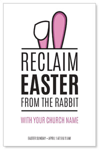 Reclaim Easter Postcards