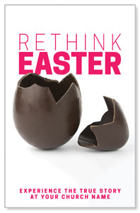 Rethink Easter Chocolate Egg Postcards