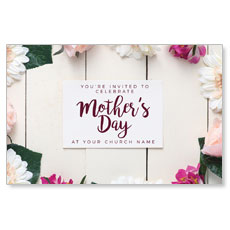 Mothers Day Note Flowers