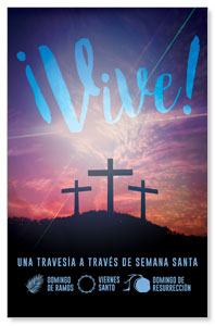 Come Alive Easter Journey Spanish 4/4 ImpactCards