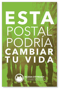 CityReach Urban Green Spanish Postcards