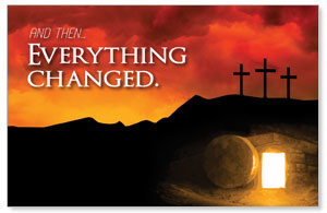 UMC Easter Everything Changed Postcards