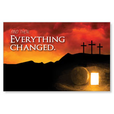 UMC Easter Everything Changed Postcard