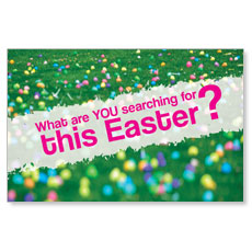 UMC Easter Search Postcard
