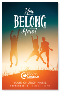 BTCS You Belong Here Kids Postcards