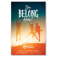 BTCS You Belong Here Kids Postcard