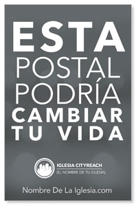 CityReach Blurred Gray Spanish Postcards