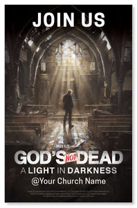 GND: A Light in Darkness Church Postcards