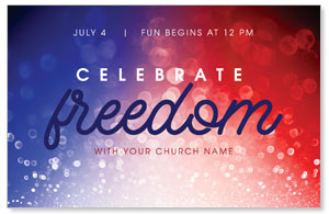 Celebrate Freedom 4/4 ImpactCards