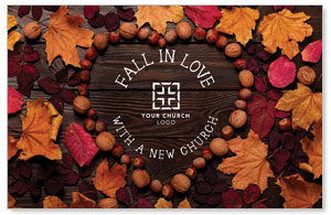 Fall in Love Postcards