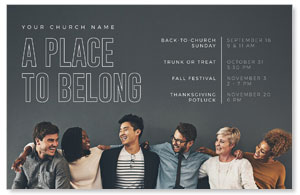 Place to Belong Group Postcards