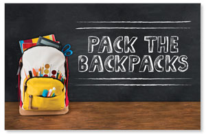 UMC Backpack Church Postcards