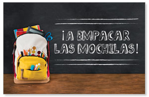 UMC Backpack Spanish Postcards