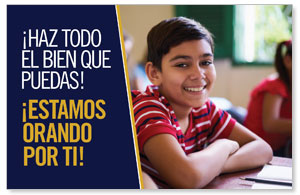 UMC Boy Do Good Spanish Postcards