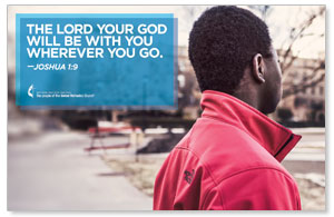 UMC Lord Be With You Postcards