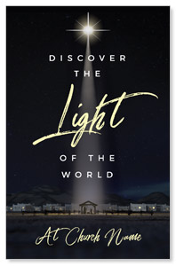 Discover Light of World Church Postcards