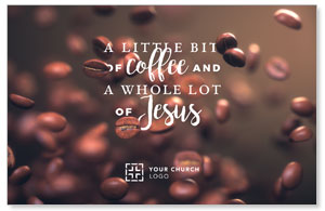 Coffee and Jesus Church Postcards