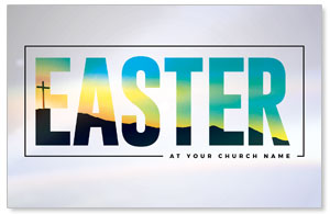Bold Easter Calvary Hill 4/4 ImpactCards