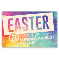 Easter At Colorful