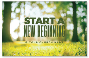 Start New Beginning Green 4/4 ImpactCards