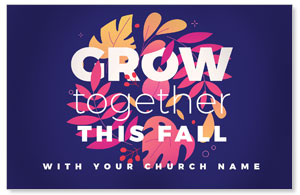 Grow Together Fall 4/4 ImpactCards