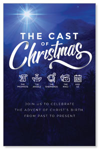 The Cast of Christmas 4/4 ImpactCards
