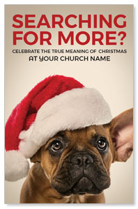 Santa Hat Puppy 4/4 ImpactCards