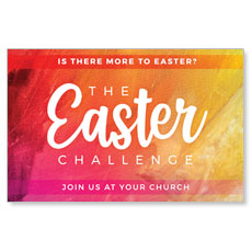 The Easter Challenge Church Postcard