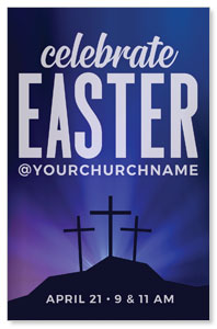 Aurora Lights Celebrate Easter 4/4 ImpactCards
