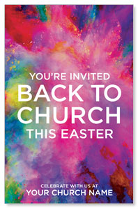 Back to Church Easter 4/4 ImpactCards