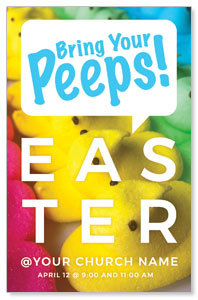 Bring Your Peeps 4/4 ImpactCards