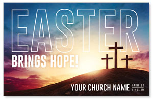 Easter Hope Outline 4/4 ImpactCards